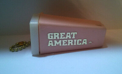 Vintage Great America, Hard Plastic, Picture Viewer, Keychain