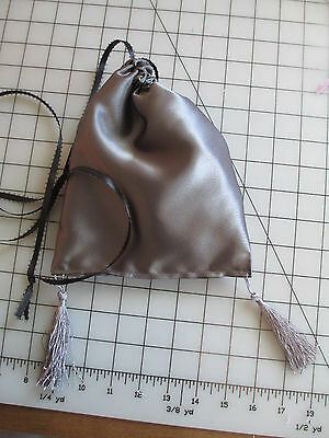 Regency Era/Jane Austen~ Reticule~New ~ Handmade~Gray