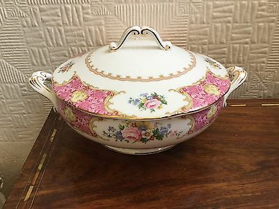 royal albert lady carlyle Large Lidded Tureen   - Great Condition