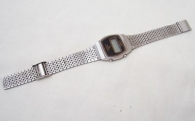 Vintage Citizen Quartz Crystron LC Digital Watch - Made In Japan