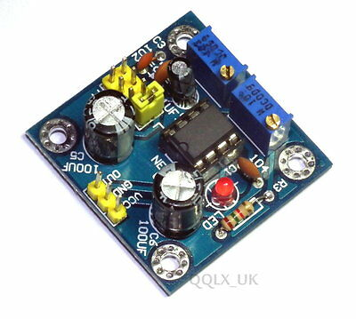 NE555 Duty Cycle and Frequency Adjustable Module Square Wave Signal genera - UK