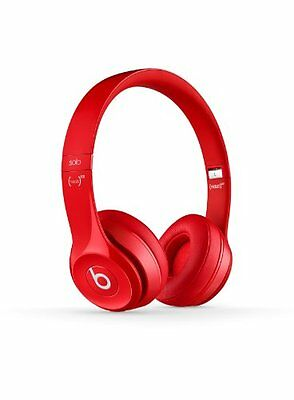 Beats by Dre Solo 2 On-Ear Headphones - Red