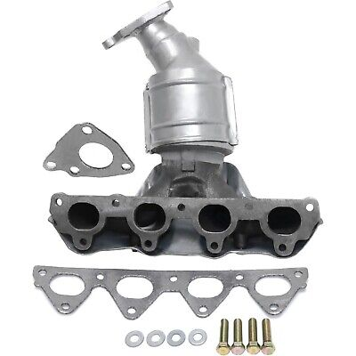 Evan Fischer Catalytic Converter with Exhaust Manifold for 96-00 Civic, Front