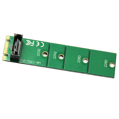 Q13023 WBTUO LM-131S-V1.0 M.2 NGFF To SATA 3.0 Adapter - Green