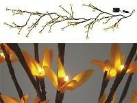 NEW Lighted Forsythia Garland electric light spring and Easter garland pk17120