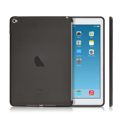 kwmobile TPU SILIKON CASE FÜR APPLE IPAD AIR 2 SCHWARZ SILIKON HÜLLE CASE COVER