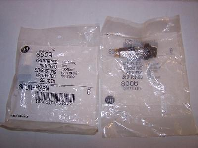 Allen Bradley 800A-H2Bw Selector Switch  New In Sealed Bag