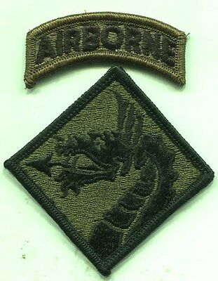 Vietnam Era US Army XVIII Airborne Corps Patch Subdued