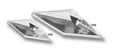 Spyderco Acrylic Knife Stand CT03, Large, Set - 2 Individual Pieces - Dealer