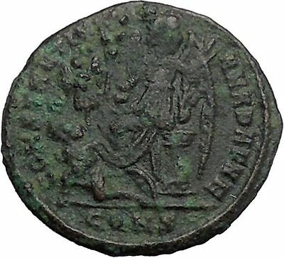 CONSTANTINE I the GREAT victory over LICINIUS 327AD Ancient Roman Coin i48155