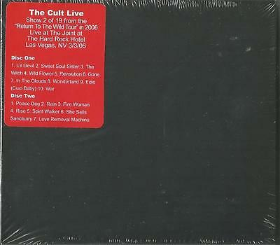 THE CULT- Live, The Joint At The Hard Rock Hotel, Las Vegas, 2006 CD New Sealed