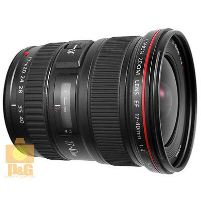NEW BOXED CANON EF 17-40mm F/4 L USM LENS 4 5D III 1DX