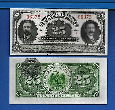 Mexico/Revolutionary S-1070 Fifty Centavos Year 1915 Banknote South  America