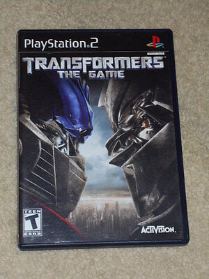 Transformers: The Game Video Game (Sony PlayStation 2, 2007)