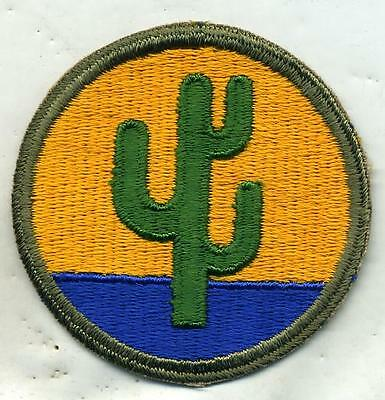 ORIGINAL VINTAGE WW2 WWII U.S. ARMY 103RD INFANTRY DIVISION PATCH-Cut Edge