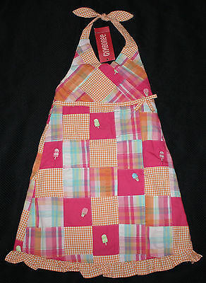 NEW Gymboree Popsicle Party Girls Dress Size 4 Clothes Halter Ice Cream NWT