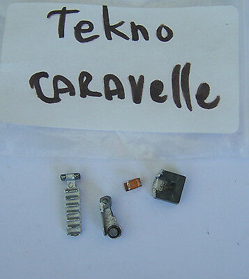 TEKNO Caravelle original parts... nose wheel and staircase.