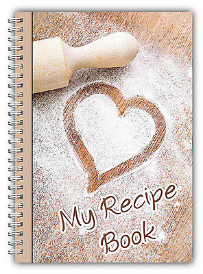 New!!! A5 Recipe Planner/ Personal Recipe Book/Your Own Recipes/Weight Loss