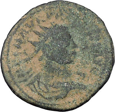 Probus  receiving globe from Jupiter 281AD Authentic Ancient  Roman Coin i47014