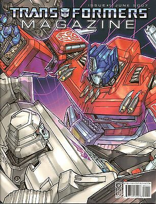 Transformers Magazine # 1 / Idw Publishing / June 2007 / N/m - 1St Print
