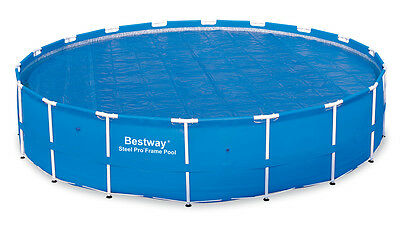 Bestway 18 Foot Round Above Ground Swimming Pool Solar Heat Cover   58173E