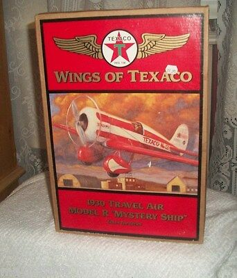 "WINGS OF TEXACO / 1930 TRAVEL AIR MODEL R ""MYSTERY SHIP""  5TH SERIES"