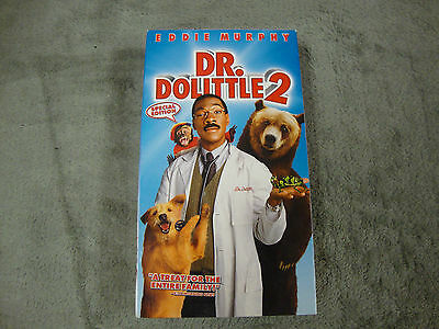 Dr. Dolittle 2 (VHS, 2001)! Leading Role: Eddie Murphy! COMEDY! VHS!