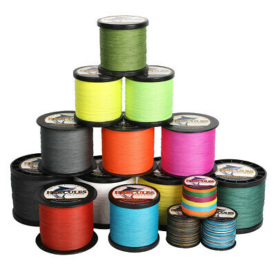 Forte 500M 1000M Strong Filo da pesca trecciato Extremely PE Braid fishing line