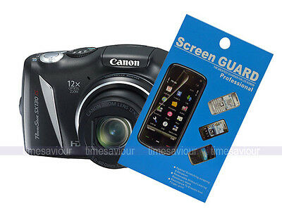 2 x Screen Protector Guard for Canon Powershot SX130 IS