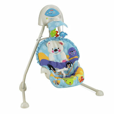 FISHER PRICE PRECIOUS PLANET BLUE SKY CRADLE N SWING