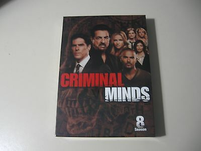 Criminal Minds: The Eighth Season 8 (DVD, 2013, 6-Disc Set) Brand New & Sealed