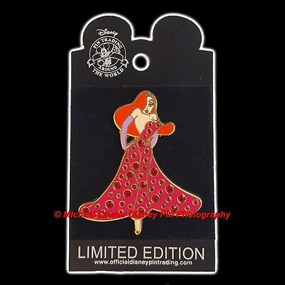 DISNEY SHOPPING INDEPENDENCE DAY 2006 JESSICA ROGER RABBIT PIN *MOC* 4th JULY
