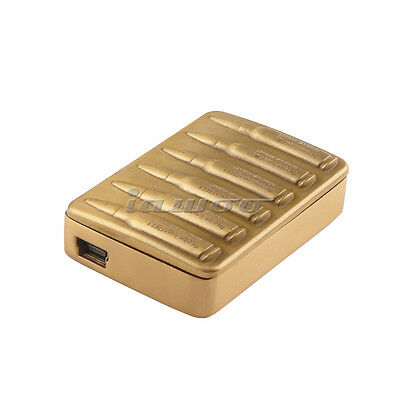Environmental Electronic Cigarette USB Charging Cigar Lighter Gold