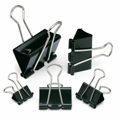 80 Pieces Herlitz 19mm Fold Back Clips