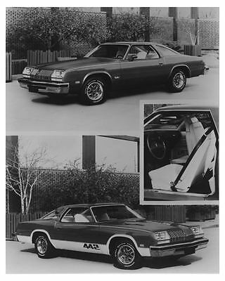 1976 Oldsmobile 442 Automobile Factory Photo ch7174