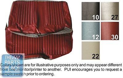 69 Skylark / GS 350 / GS 400 Fawn Bench W/ Armrest Seat Covers & Coupe Rear PUI