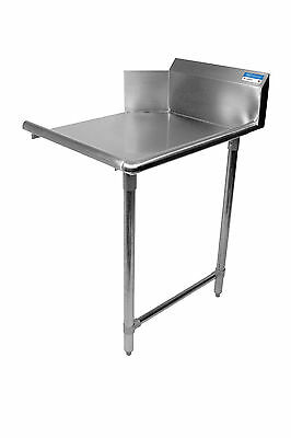 "Commercial Stainless Steel 26"" Right Side Clean Dish Table NSF"