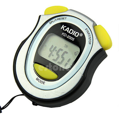 Handheld LCD Digital Professional Chronograph Timer Counter Sports Stopwatch Hot