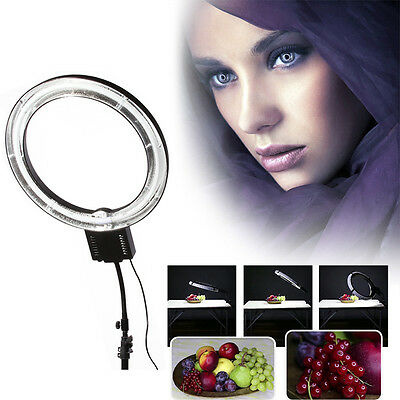 65W 5400K Continuous Fluorescent Photo Studio Macro Ring Lamp Selfie Fill Light
