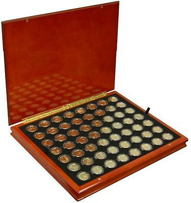 1999 - 2009 Complete Set 56 24kt Gold Plated State and Territory Quarters in Box