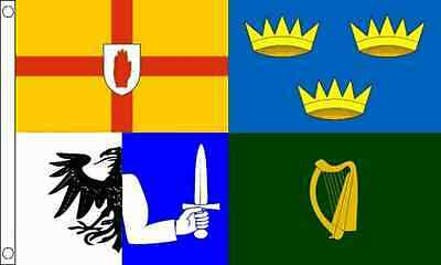 4 Provinces Of Ireland Flag 5 x 3 FT - 100% Polyester - Irish Republican Rebel