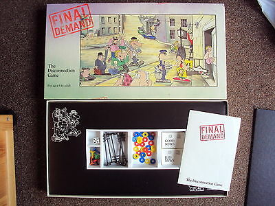 Vintage Strategy Board Game Final Demand Game Vgc Rare