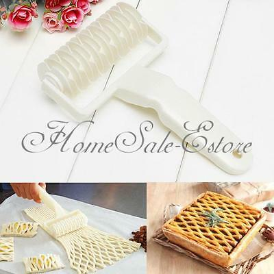 Kitchen Dough Baking Tool Bread Cookie Pie Pizza Pastry Lattice Roller Cutter