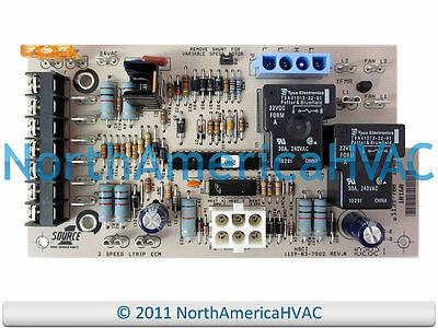 York Luxaire Coleman Furnace Control Circuit Board 031-01264-002 S1-03101264002