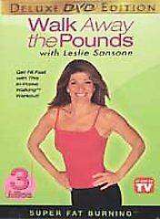 Leslie Sansone WALK AWAY THE POUNDS 3 miles Super Fat Burning (DVD) workout NEW