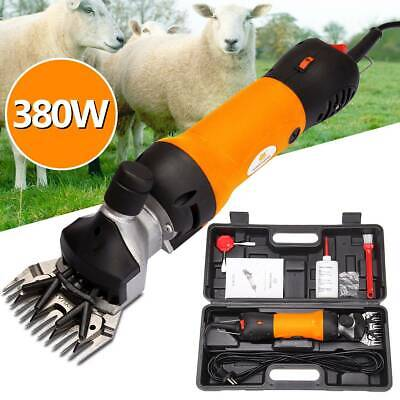 380W Sheep Shears Goat Clippers Animal Shave Grooming Farm Supplies Livestock