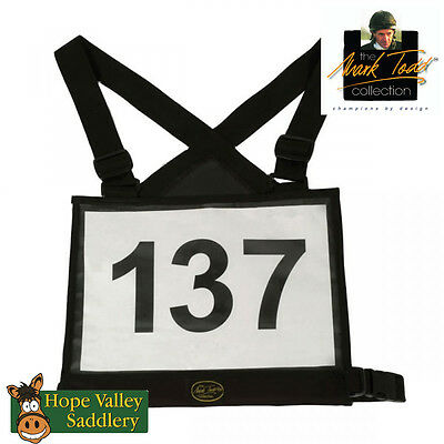 Mark Todd Competition Number Bib **FREE UK SHIPPING**