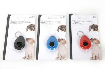 Key Ring Dog Training Clicker Teaching Tool Dogs  Puppy Puppies Easy Control
