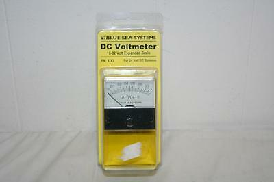 Blue Sea Systems 8243 DC Voltmeter 18-32 Volt Expanded Scale for 24V Systems New