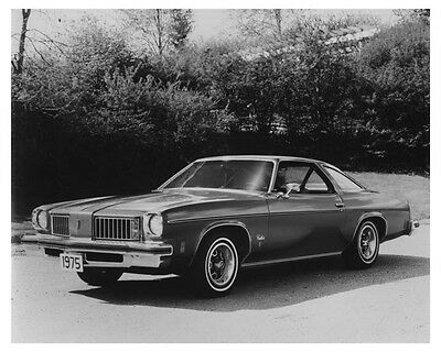 1975 Oldsmobile Cutlass Hardtop Coupe Automobile Photo Poster zch7153